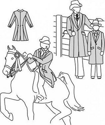 riding show coat 7 trainers4me Grease Pink Ladies Costumes suitability 5172 womens childrens saddle suit coat equestrian sewing pattern