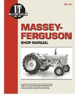 It Shop Manual Collection Massey Ferguson 65 85 88 90 1080 1100 1135 1150 1155