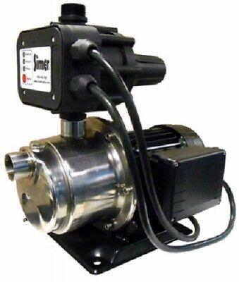 PENTAIR 4075SS-01 SIMER 3/4 HP TOTAL HOME WATER PRESSURE BOOSTER PUMP