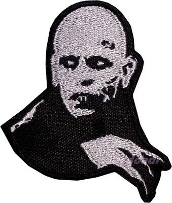 Count Orlok Embroidered Patch Horror Movie Nosferatu Dracula Vampire Monster