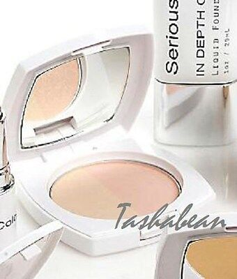 Serious Skin Care Contouring Illuminating Pressed Powder Pink & Pearl NEW SEALED