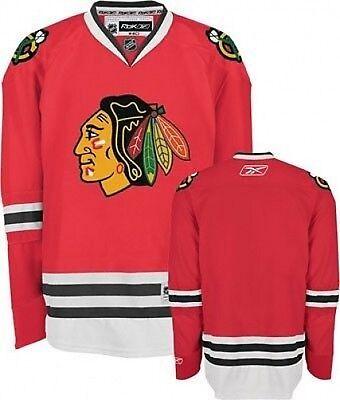 Reebok NHL Chicago Blackhawks Premier Jersey, Medium