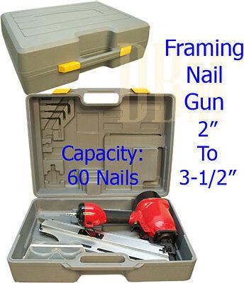 Construction Framing Roofing Nail Gun Drives Ring Shank Nails 2 To 3-1/2