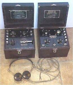 Canadian Westinghouse - Aeriola Sr. and Aeriola AC Radio