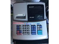 Sharp shop cash register till