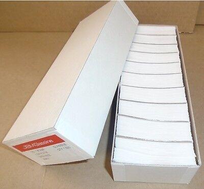 "Box of 1000 #1 Glassine stamp Envelopes 1 3/4"" x 2 7/8"" westvaco cenveo jbm"