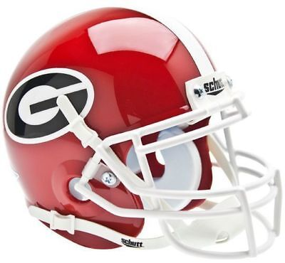 GEORGIA BULLDOGS NCAA Schutt XP Authentic MINI Football Helmet