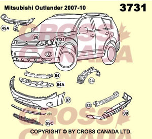 Outlander Brand New Replacement Panels @ Brown's Auto