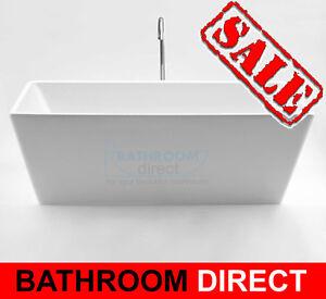 BDA QUATTRO 1200mm Small Free Standing Bath Tub Short Tiny Freestanding Bathtub