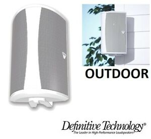 NEW DEFINITIVE TECHNOLOGY AW 6500 OUTDOOR SPEAKER WITH MOUNTING