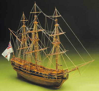 "Elegant, finely detailed Sergal wooden model ship kit: the ""President""    (#792)"