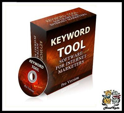 Keyword Tool  - Software for Internet Marketing  - Digital Download