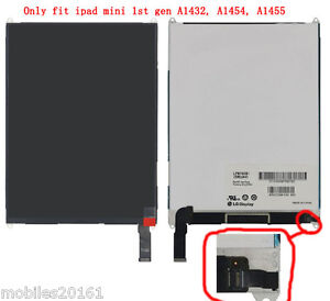 Lcd Screen Display For ipad mini 1st Replcement Apple A1432 A1454 A1455