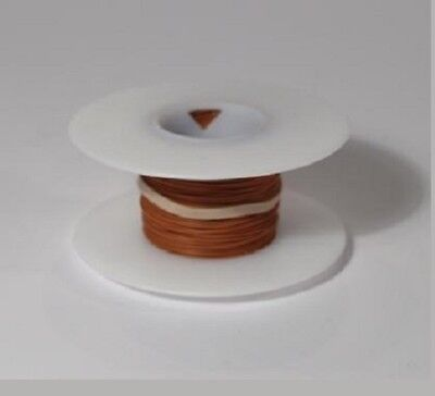 26 Awg Kynar Wire Wrap Ul1422 Solid Wiremod Type 100 Foot Spools Brown New