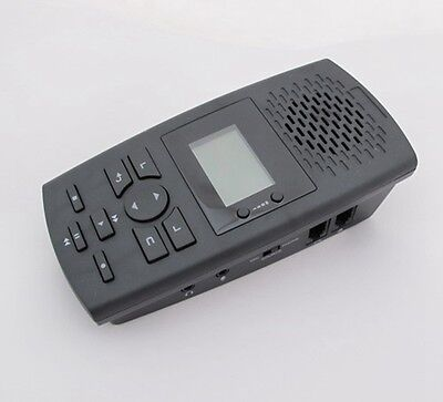 Analog & Digital Telephone Recorder RJ11 RJ9 Built-in Microphone Speaker 32G USB