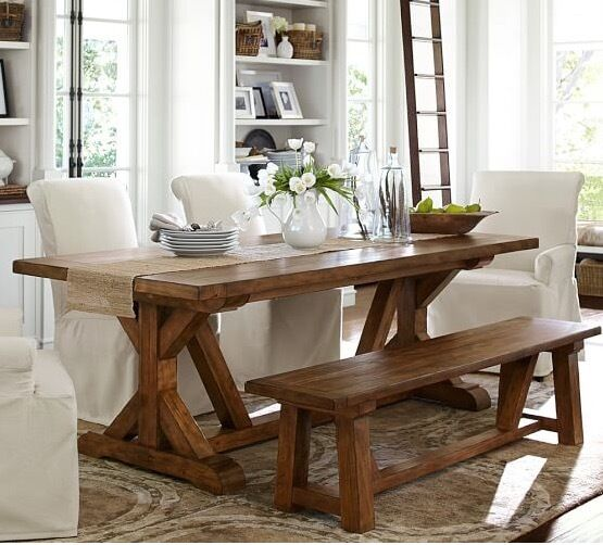 REDUCED PRICEBRAND NEW Solid Wood In Rustic Pine Pottery Barn