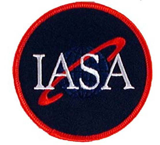 """Farscape TV Series IASA  Logo Embroidered 3.5""""  Patch- Mailed from US (FSPA-002)"""