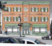 OPPORTUNITY IS KNOCKING! Brand new commercial space downtown!