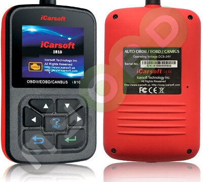 iCarsoft i810 Diagnose Scanner...