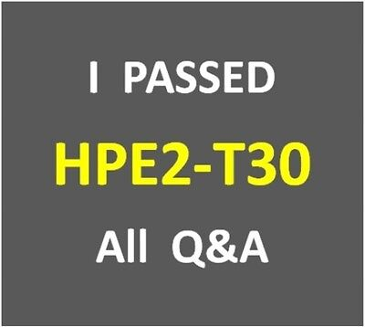 Руководство I Passed - HPE OneView