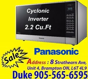 Panasonic Microwave 2.2 Cu.Ft Stainless Steel NNST975S Microwave
