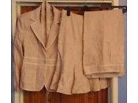 3 piece ladies suit