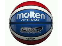 Basketball molten size 7 british basketball