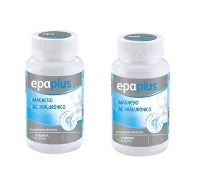 PACK x2 Epaplus Magnesium + Hyaluronic Acid 60 + 60 tablets