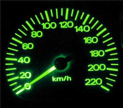 Subaru Impreza 2004-2007 Green LED Dash Cluster Lights Upgrade Kit