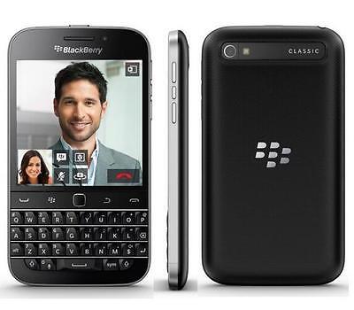 "New Unlocked BlackBerry Classic Q20 16GB 3.5"" QWERTY Keyboard Smartphone Black"