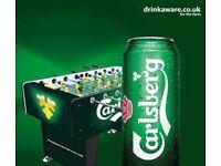 Carlsberg Branded Foosball Table