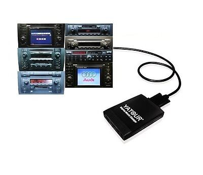 USB SD MP3 Iphone 5 6 7 Adapter CD Wechsler für Phaeton original Radio ZAB 3D