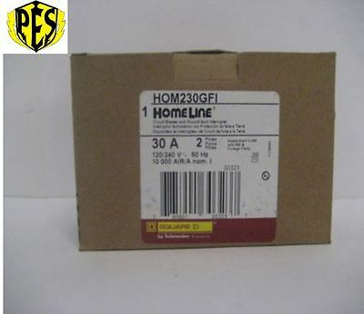 Newsquare D Homeline Part Hom230gfi Brand New Stock Nib Ground Fault Breaker