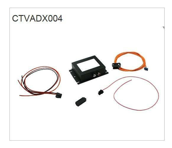 Connects2 CTVADX004 Audi Q7 06-15 MMI 2G High Aux Input