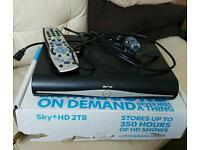 Sky Plus HD Box 500GB Recordable DRX890-C, Boxed, Remote Control and Cables