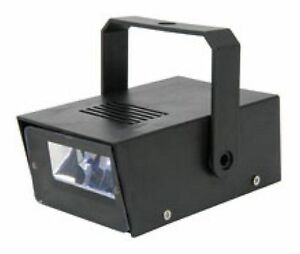 Mini Strobe Light Variable Flashing LED - Battery Powered Party Disco DJ etc.