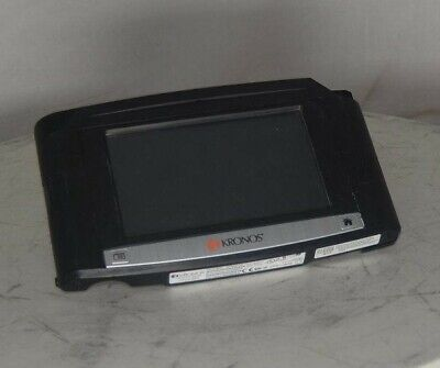 Kronos Intouch 9000 8609000-022 Time Clock Biometric Id Reader See Notes