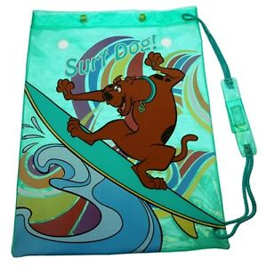 Bag SCOOBY DOO Waterproof Swim PVC Swimming PE Wet Kit Sports Trainer Beach New