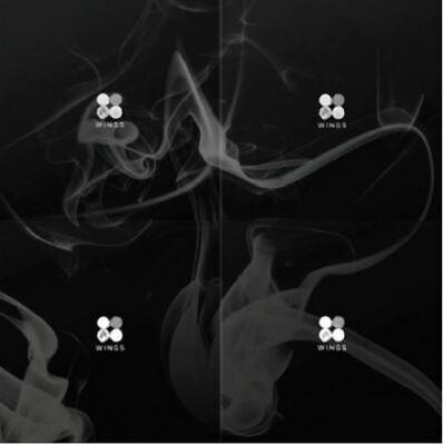 "K-PoP BTS Album ""WINGS""- 1Photobook + 1CD W Version / Free Shipping"