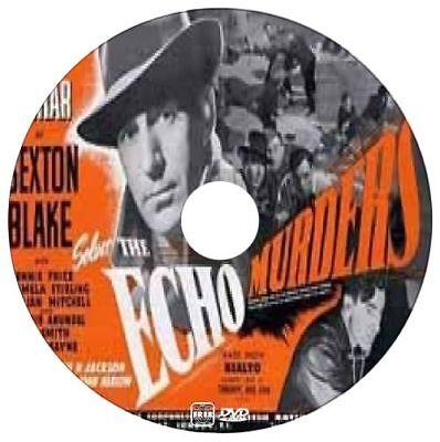 The Echo Murders - Sexton Blake - David Farrar, Dennis Price - Thriller - 1945