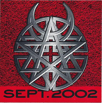 Disturbed Believe RARE promo sticker '02