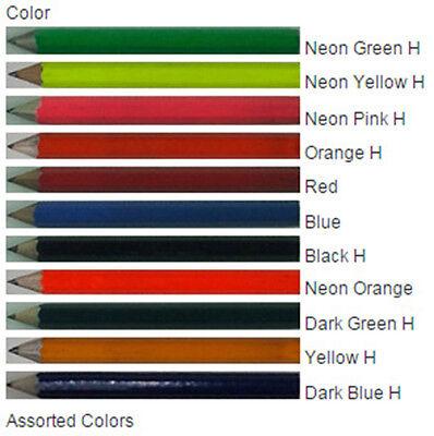 ezpencils - 24 Personalized Golf Custom Pencil sharpened - FREE PERSONALIZATION  - Personalized Pencil