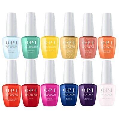 OPI GelColor Polish UV/LED Gel Varnish Soak-off Nail Lacquer 15ml choose colour