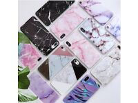 Marbel Effect iPhone Covers - Various colours