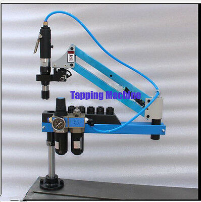 Universal Flexible Arm Pneumatic Air Tapping Machine 360 Angle 1500mm M3-m12