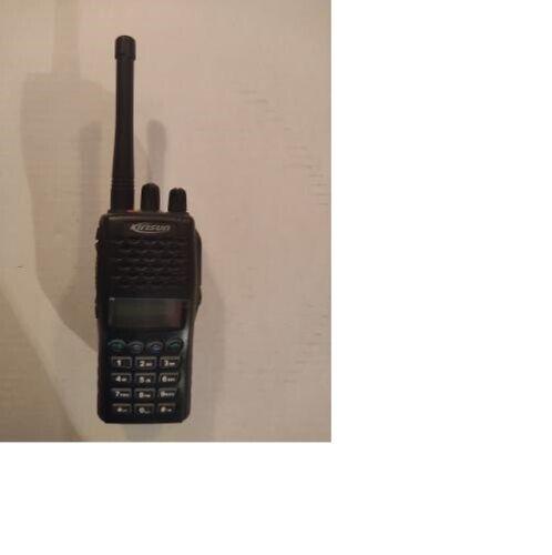 KIRISUN PT6500 UHF 400-470 MHZ PORTABLE TWO WAY RADIO VGC VERY NICE LOOK