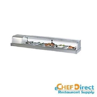 Turbo Sak-70l-n 72 Sushi Display Case - Left Side Compressor