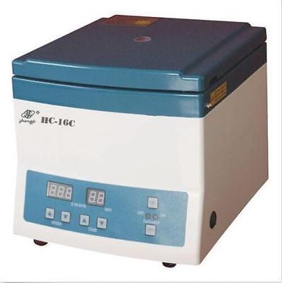 16000rpm Electric Medical Lab Centrifuge Equipment 1.5ml12 Optional Tubes T