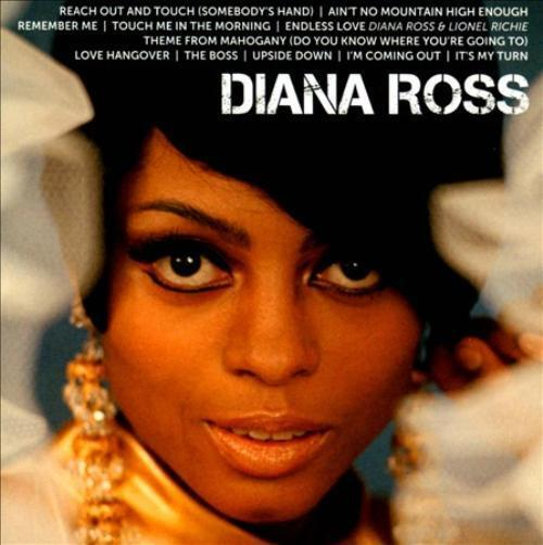 DIANA ROSS - ICON NEW CD