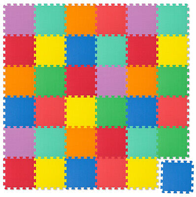 Spielmatte 36tlg Spielteppich Puzzlematte Kinderteppich Matte Schutzmatte NEU